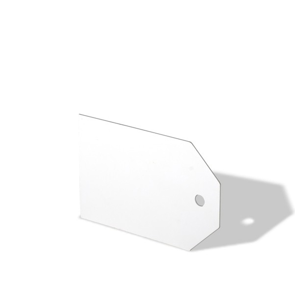 Бирка кабельная (Домик) 150х100х50