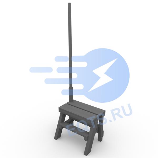 Подставка инвентарная БКТПу ЭСИ-75.00.0, ЭСИ.300.11.01 СБ